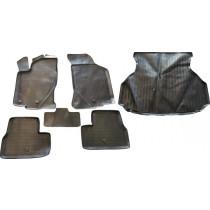 Ковры в салон+ Поддон в багажник Lada Granta Liftback