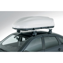 Бокс багажный аэродинамический на крышу серого цвета (460л)