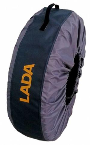 Комплект чехлов для хранения колес R13-R17 LADA